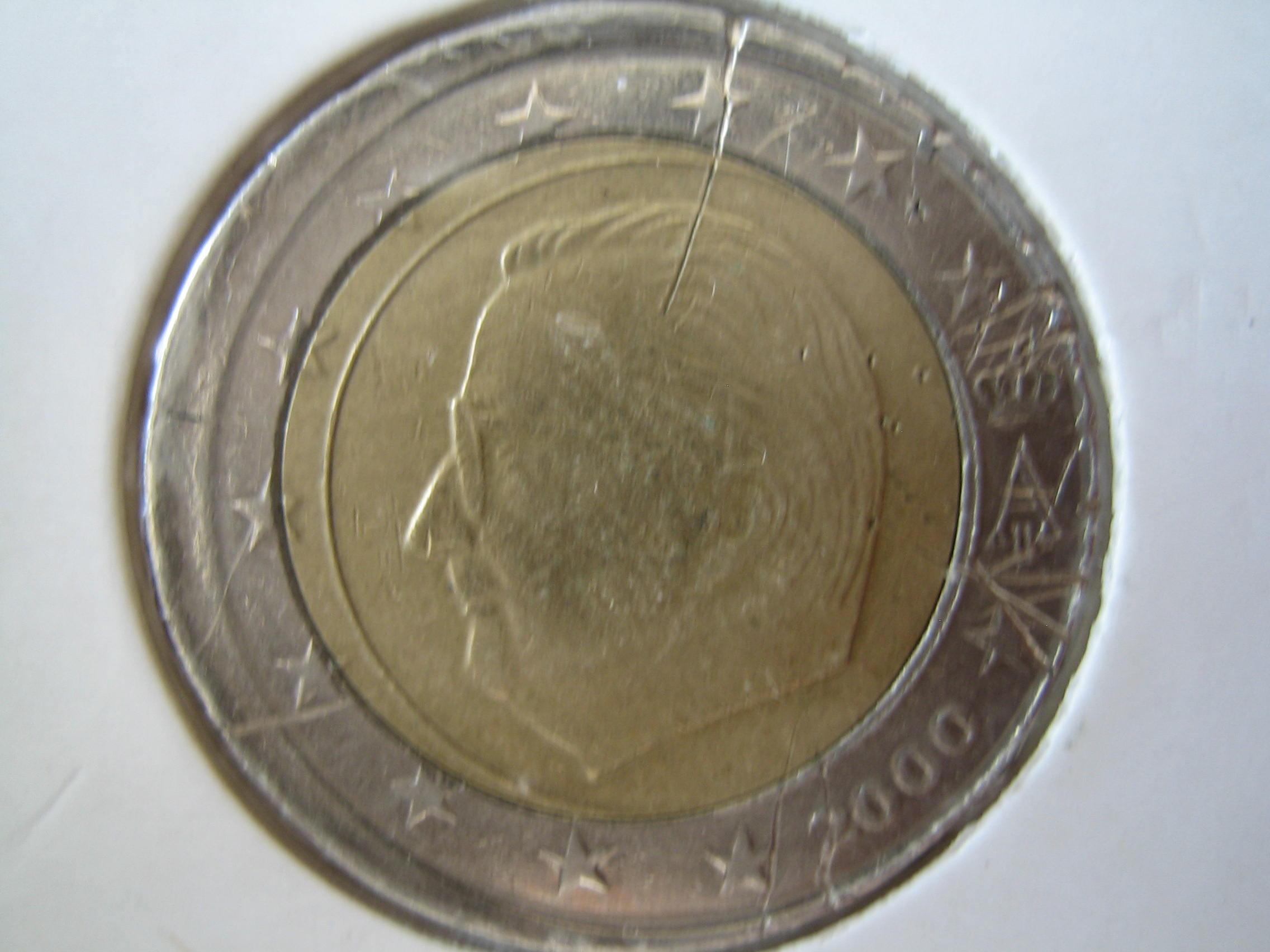 piece de monnaie fautee