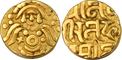 First ruler to issue gold coins in india after delhi