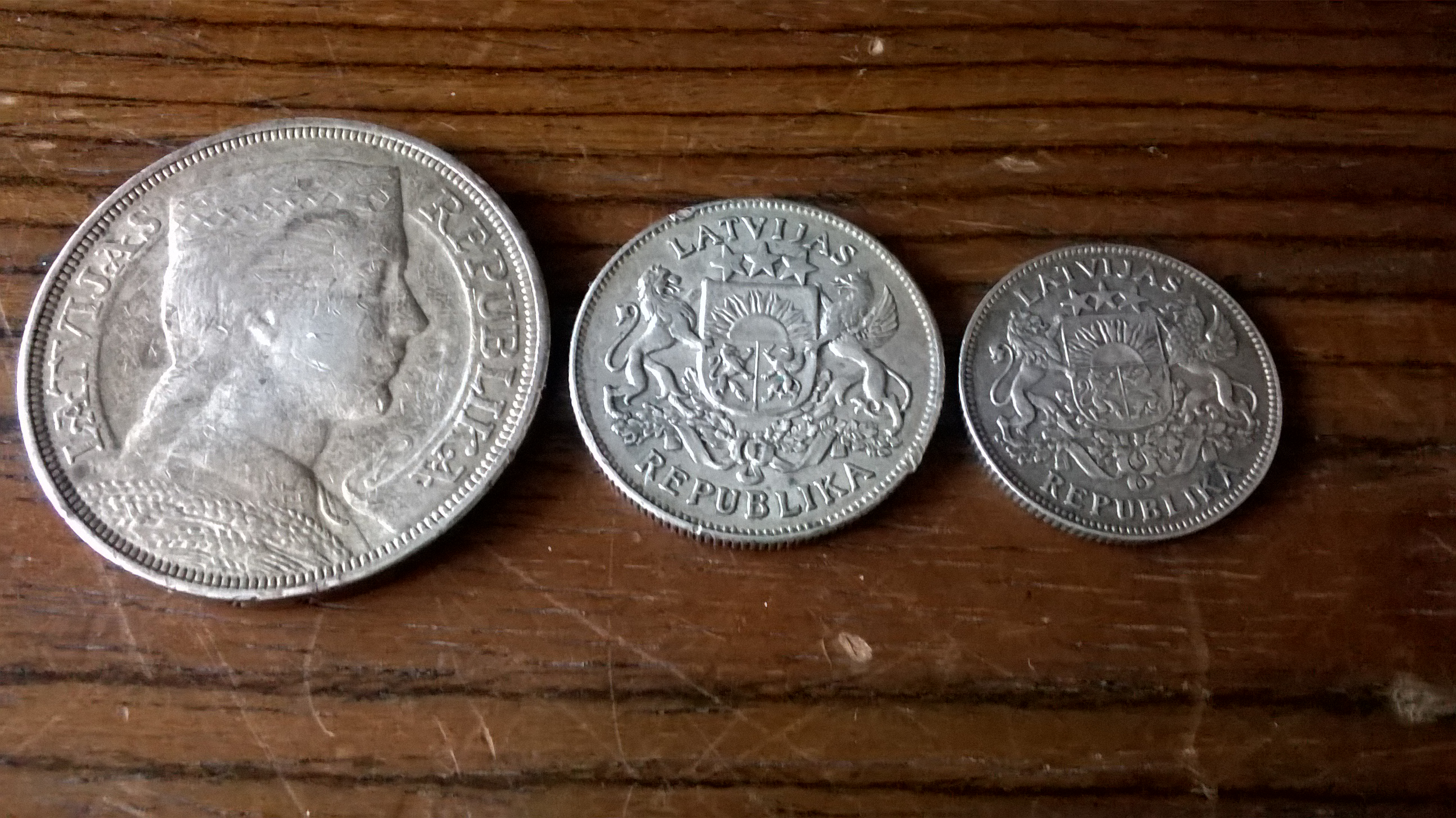 Selling Latvia Old Banknotes Silver Coins Numista