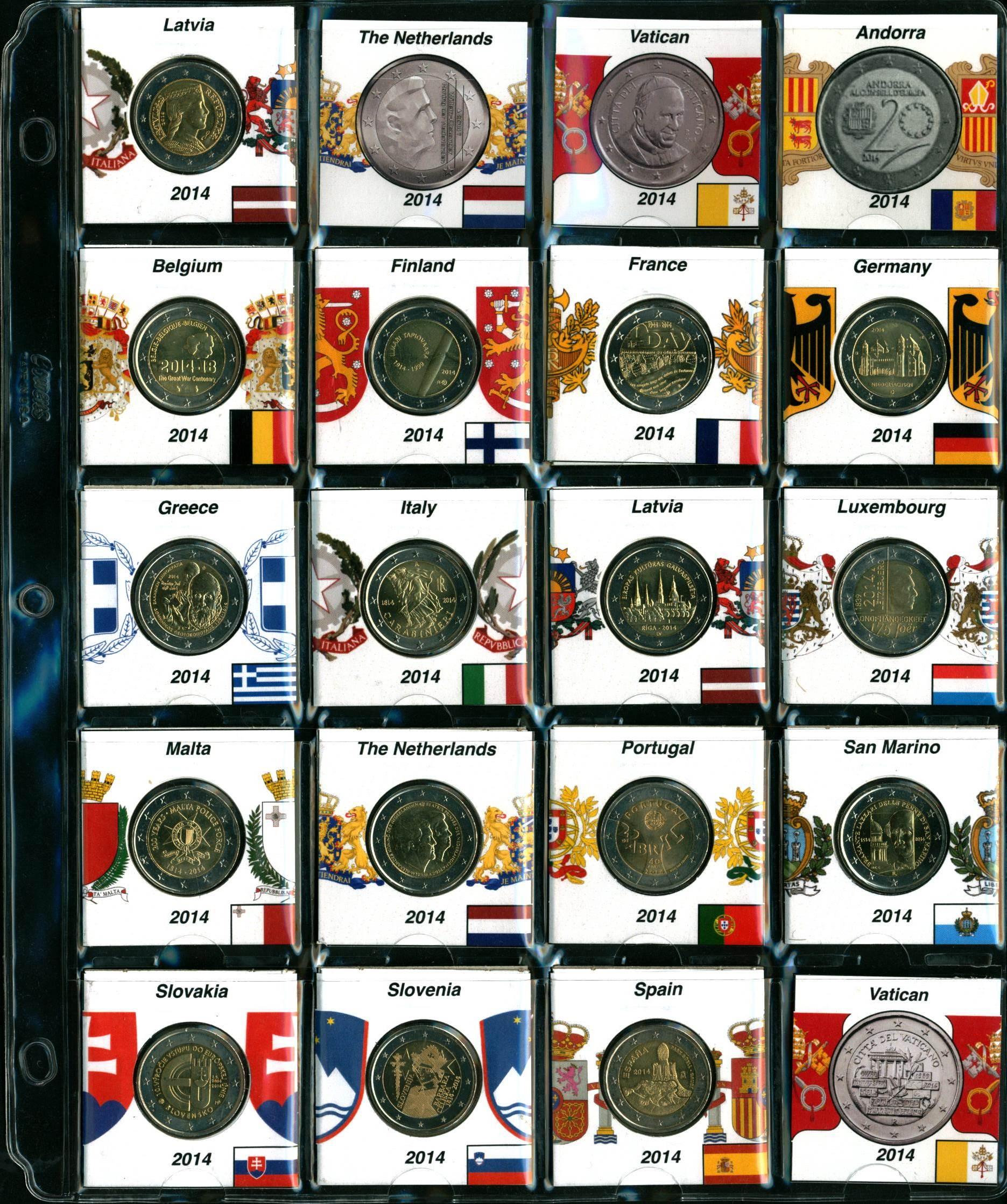 Coin flip - Printed labels – Numista