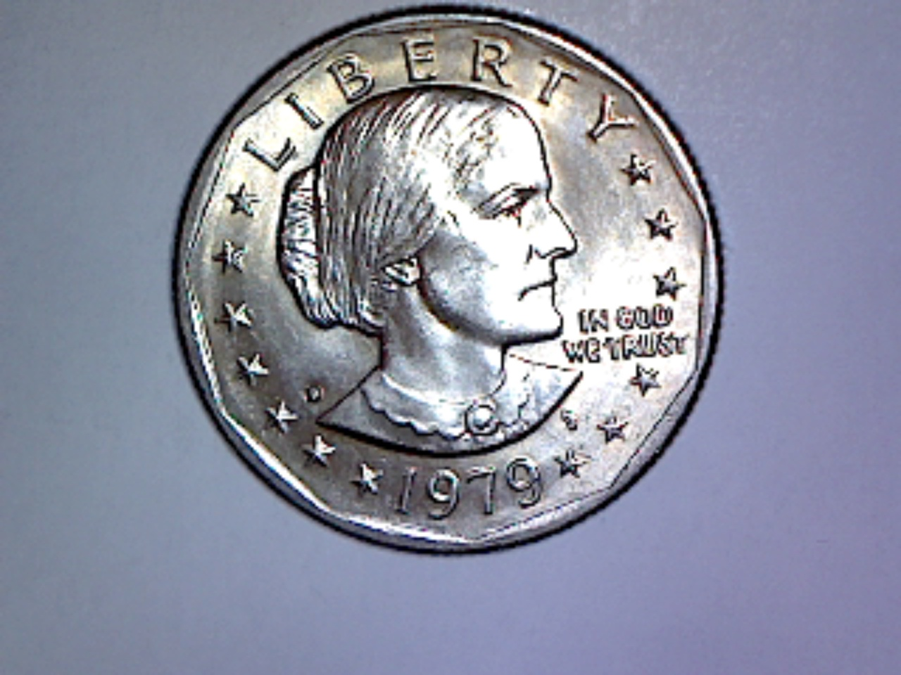 The mixed up world of the 1979 Susan B  Anthony, US dollar