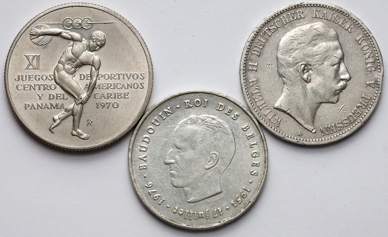 Silver coins for swap/sale – Numista