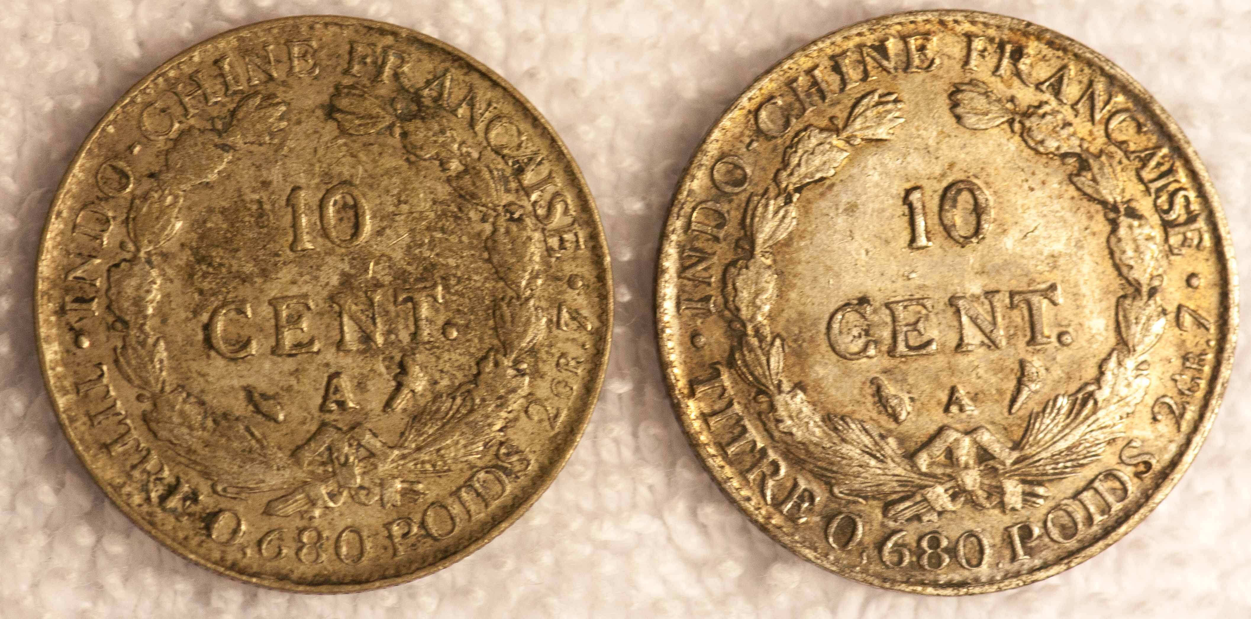 Changed dates on French Indochina coins - what is it? – Numista