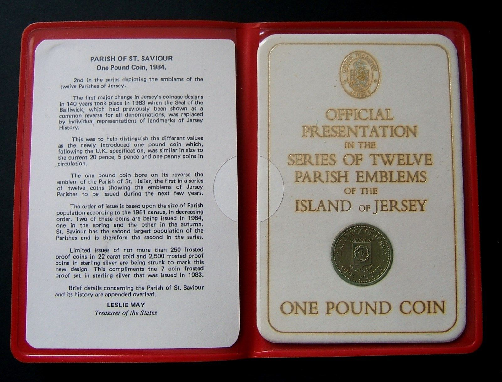 States of Jersey £1 Coin Set (12) – Numista