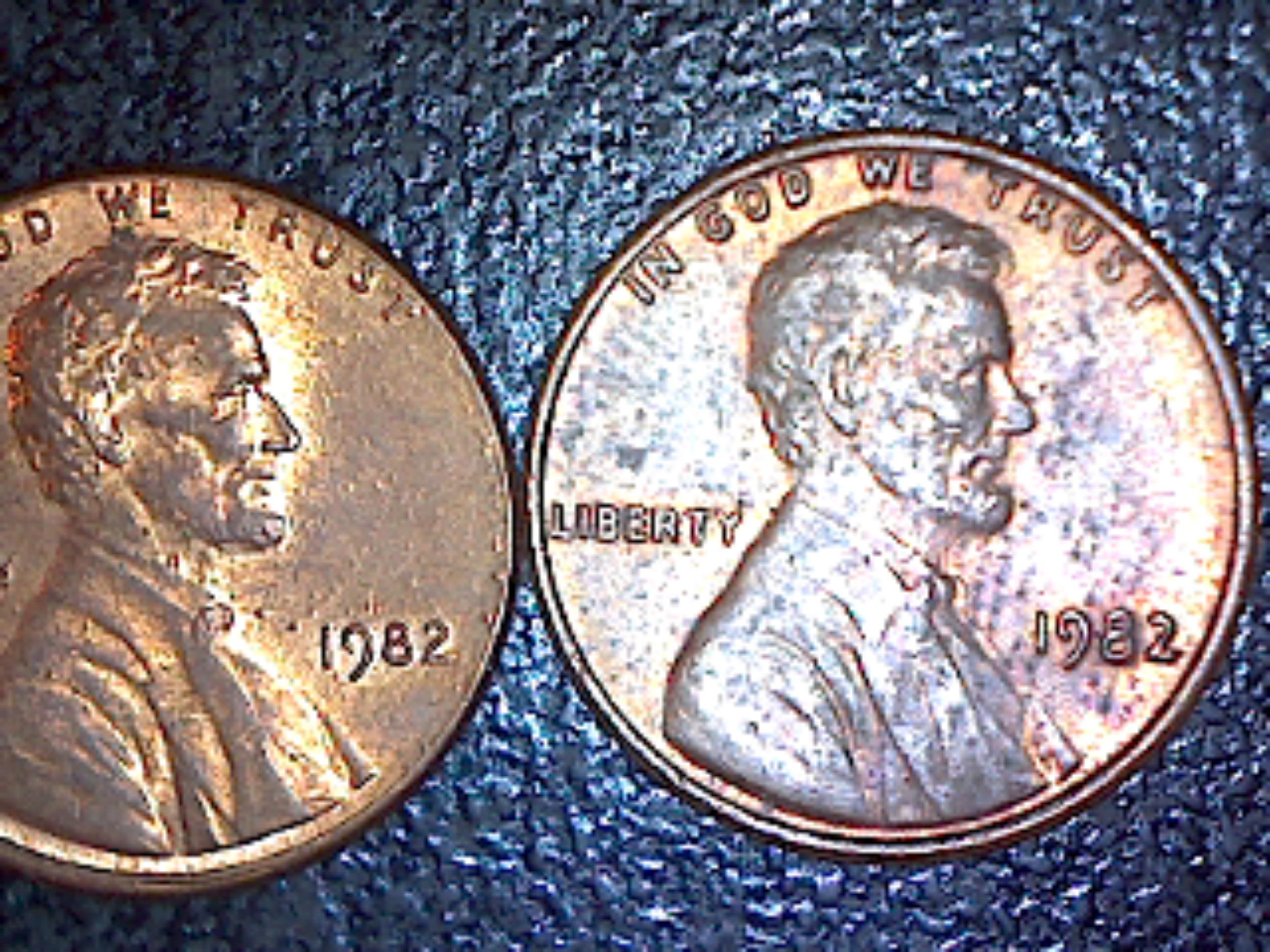 Rare 1982 US penny? – Numista