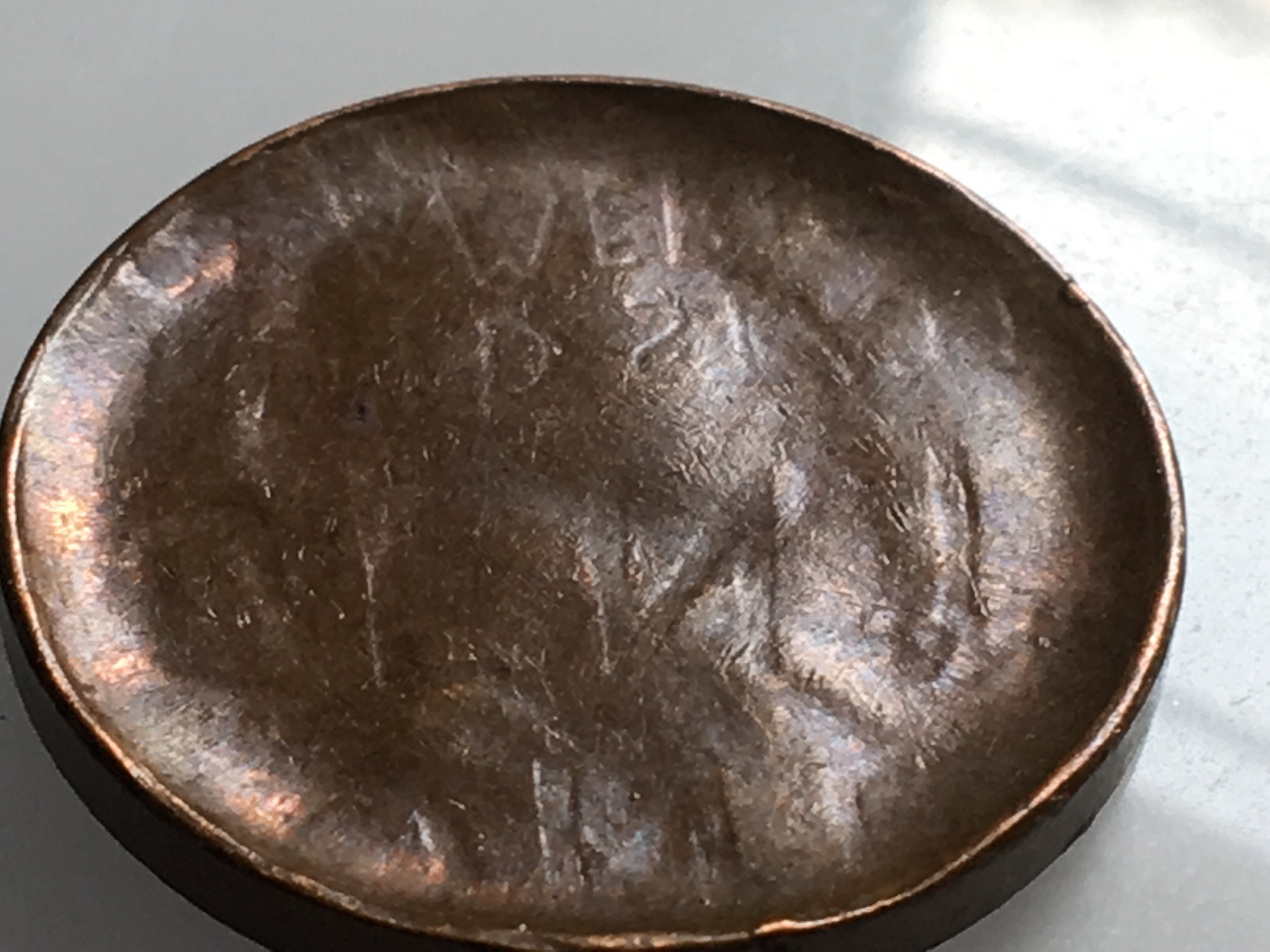 Wheat Penny Stamped On One Side Only Numista