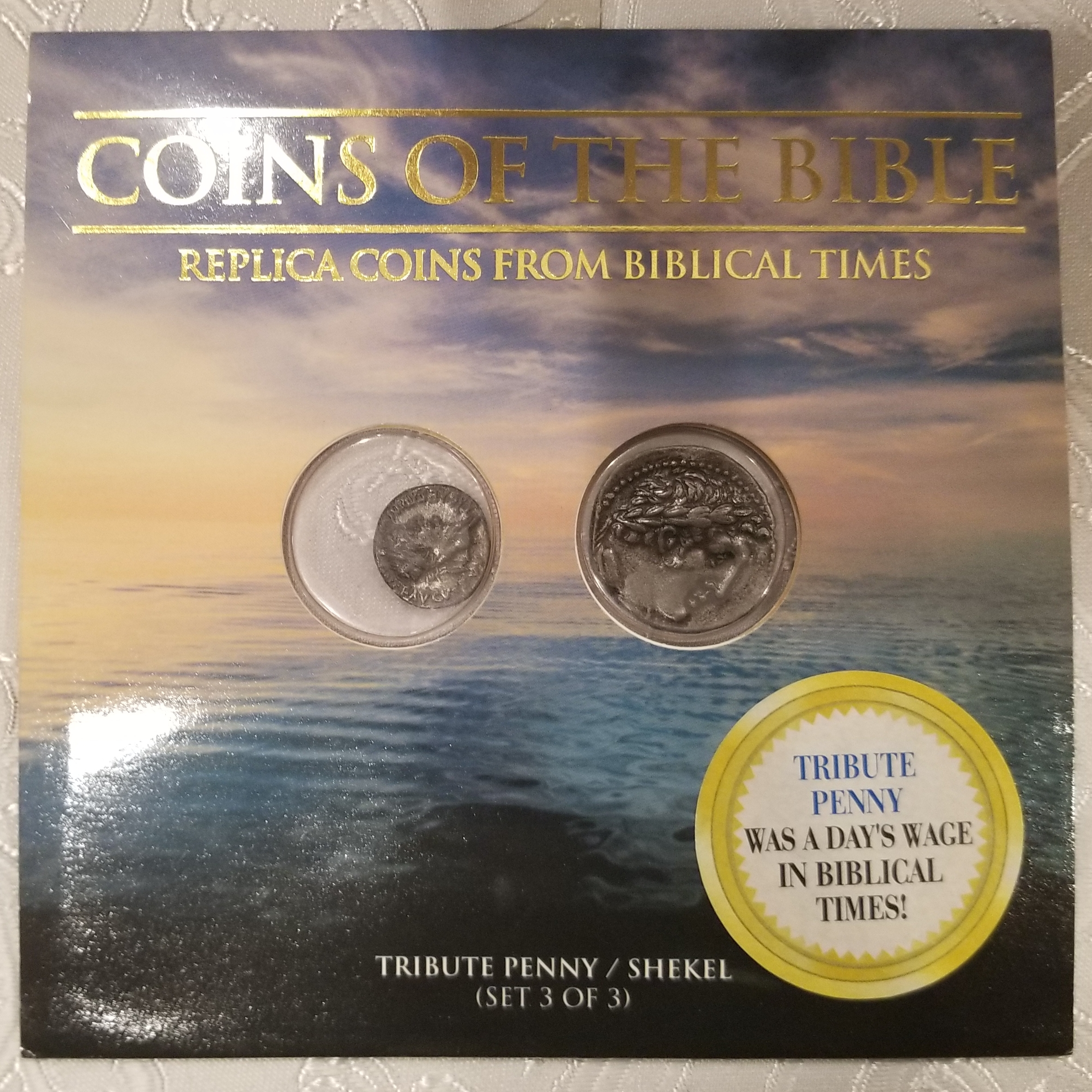 Replica Biblical Coin Sets for Sale – Numista