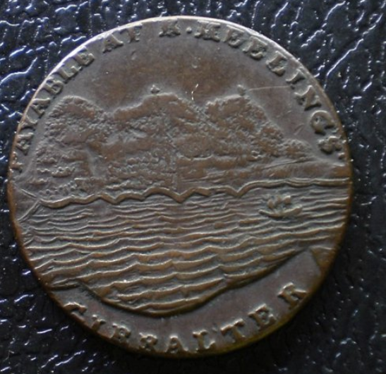 4 Great Britain 1 2 Penny 1806 18