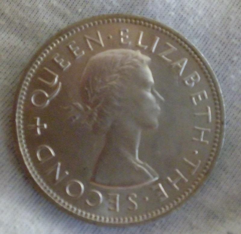 Excellent Coin Britain Half Crown Bin 1949 GREAT BRITAIN 1//2 CROWN