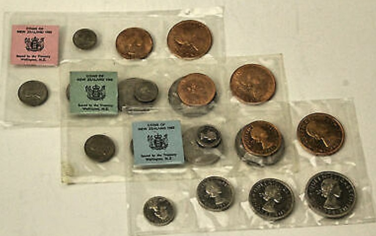Annual Uncirculated Polished Coin Set 1967 Samoa