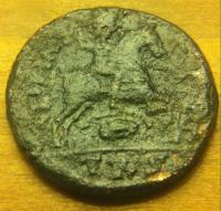 Romaine au cavalier ? Maiorina de Magnence , GLORIA ROMANORVM 53767f91e3a66