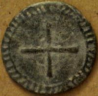 Méreau à ID (résolu ) , méreau du XIIIème , sud de France ou Aragon 537c9acdf00df